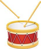 Drum. Music instrument