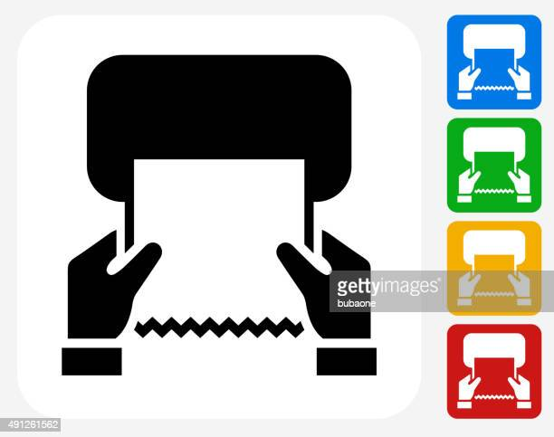 drying hands icon flat graphic design - paper towel stock illustrations, clip art, cartoons, & icons