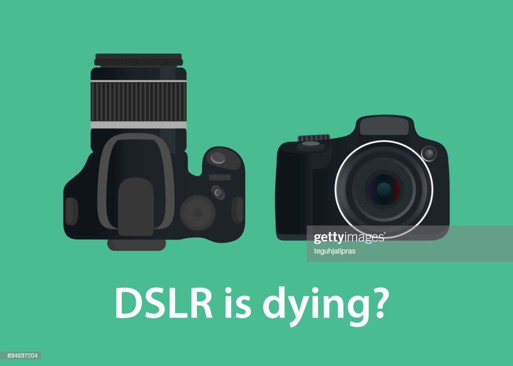 dslr digital camera is dying or die because of the technology