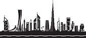 Dubai cityscape by day