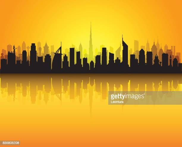 Dubai Skyline (All Buildings are Separate and Complete)
