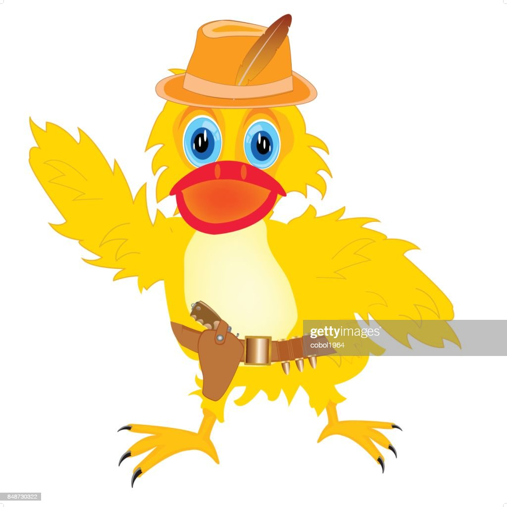 Duck cowpuncher