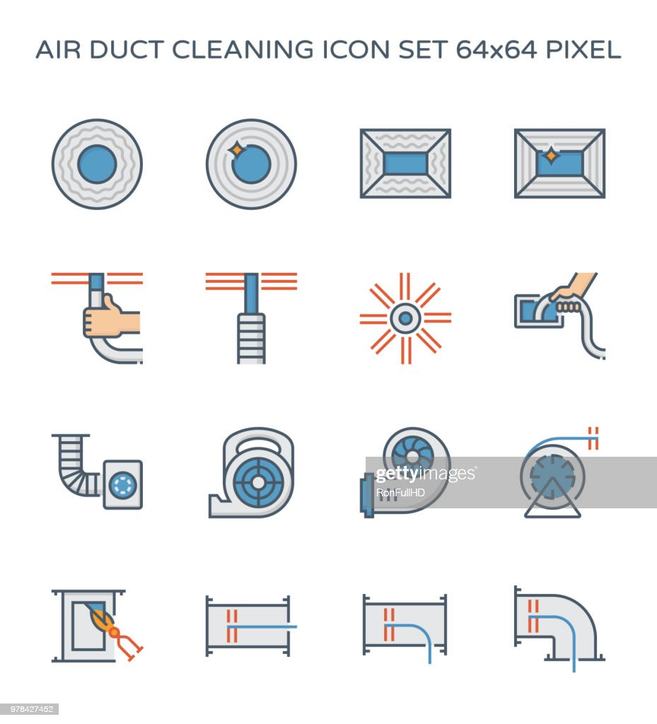 duct cleaning icon