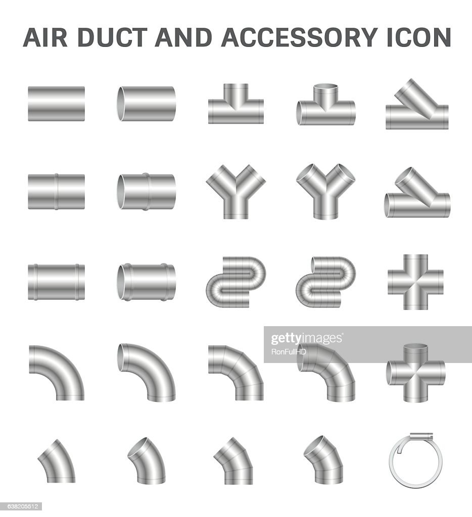 Duct Pipe Icon
