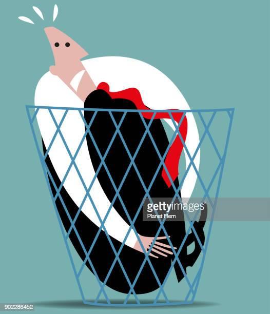 dumped - infamous stock illustrations, clip art, cartoons, & icons