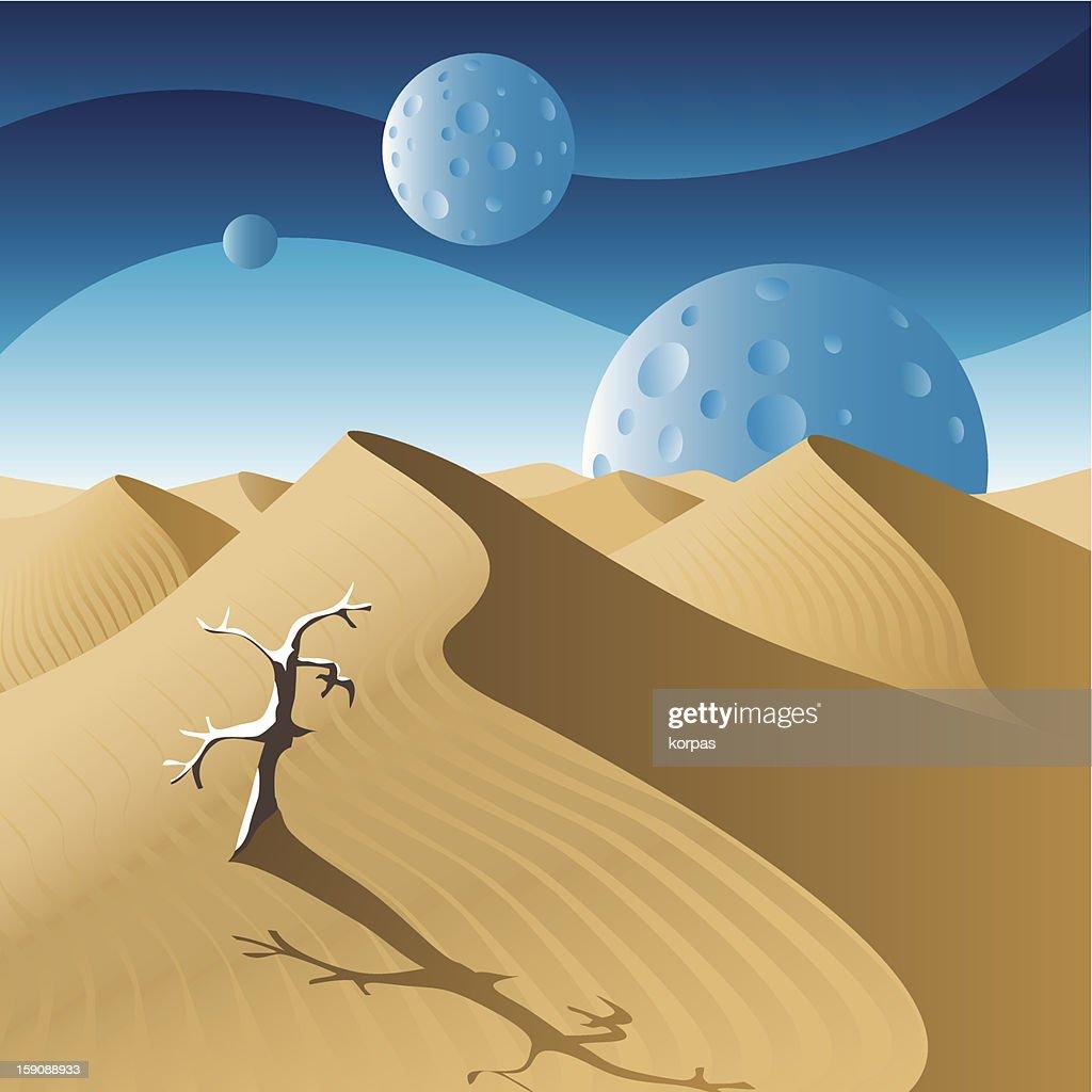 Dunes : Arte vectorial