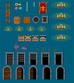Dungeon Game Objects