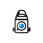 Duo Tone Icon - Camera