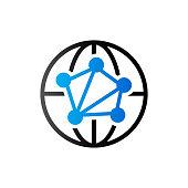 Duo Tone Icon - Network