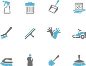 Duo Tone Icons - Cleaning Tools