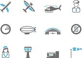 Duotone Icons - Aviation