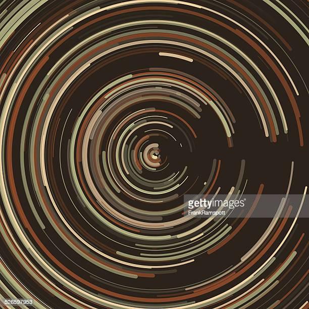 ilustraciones, imágenes clip art, dibujos animados e iconos de stock de concéntrico circle patrón de polvo - frank ramspott