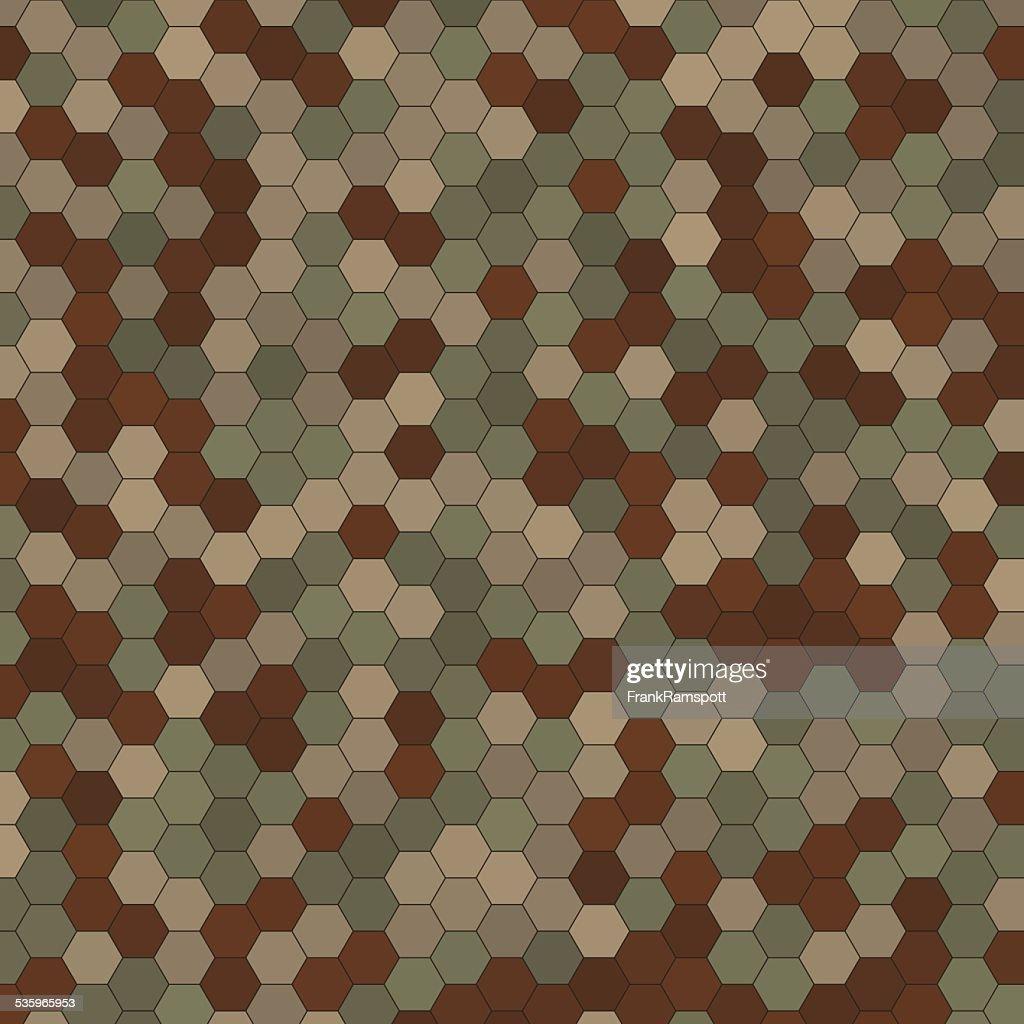 Dust Hexagon Pattern Square : Vector Art