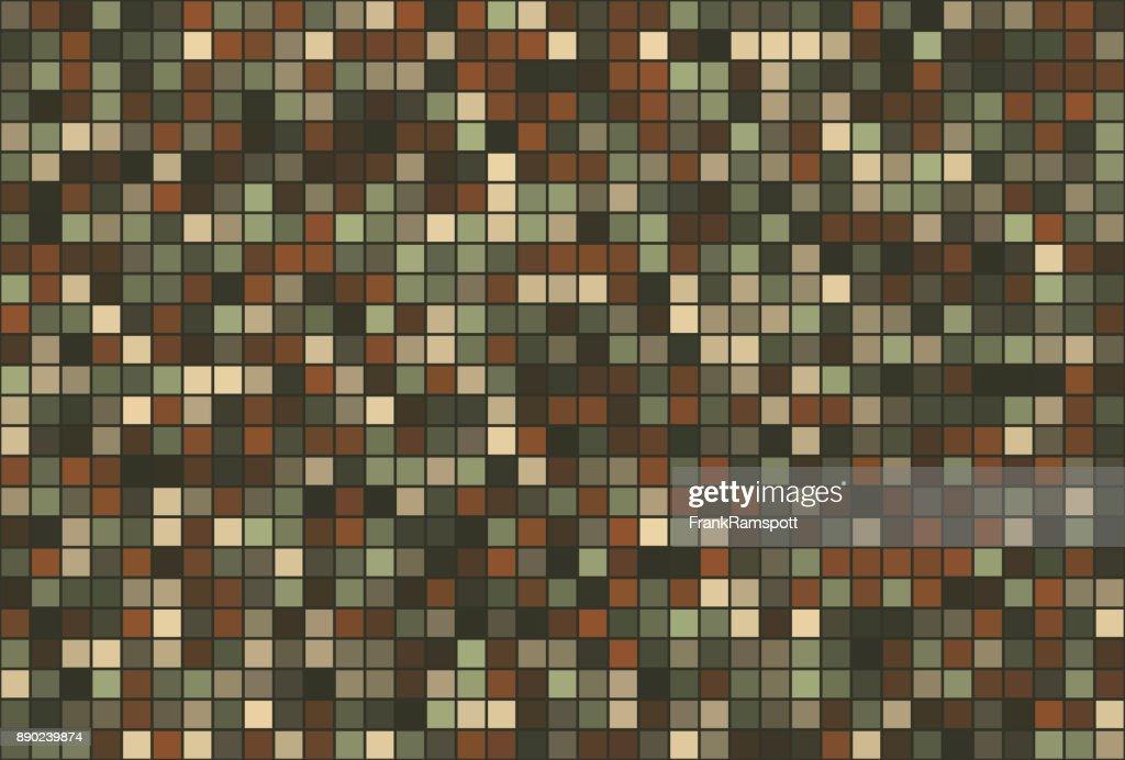 Staub-Square Vector Art Muster Horizontal : Stock-Illustration