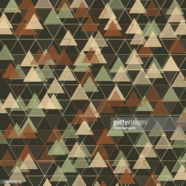 Staub-Dreieck-Vektor-Design-Pattern