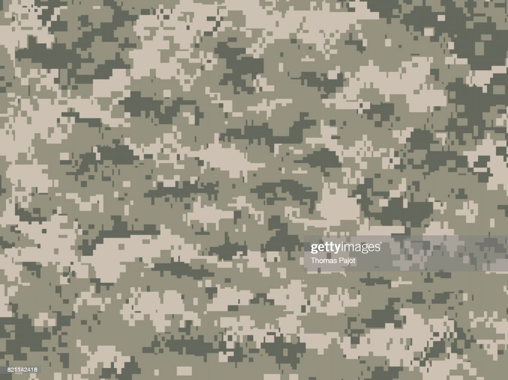 Dusty green camouflage texture