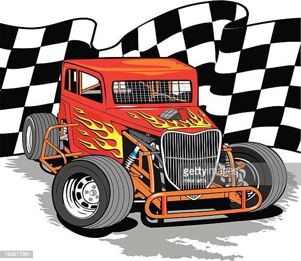 dwarfcarcheck - sprint car stock illustrations