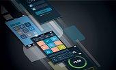 Dynamic smartphone interface