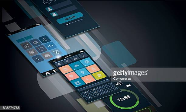 Dynamic smartphone interface