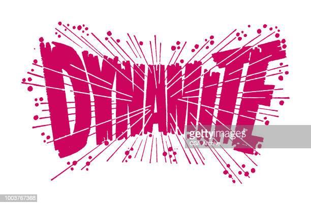 dynamite - explosive stock illustrations