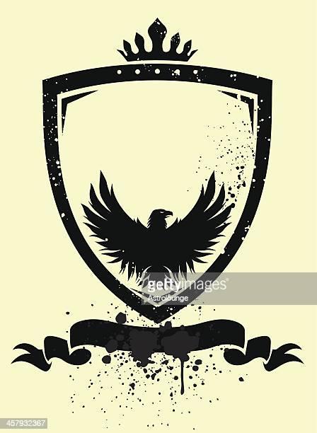 Eagle and shiled