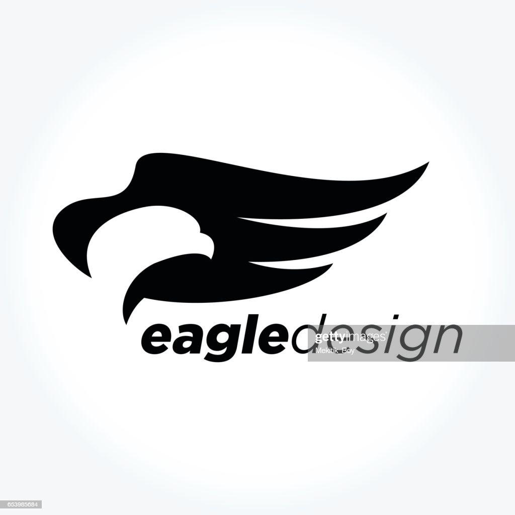 Eagle Bird Design, vector illustration
