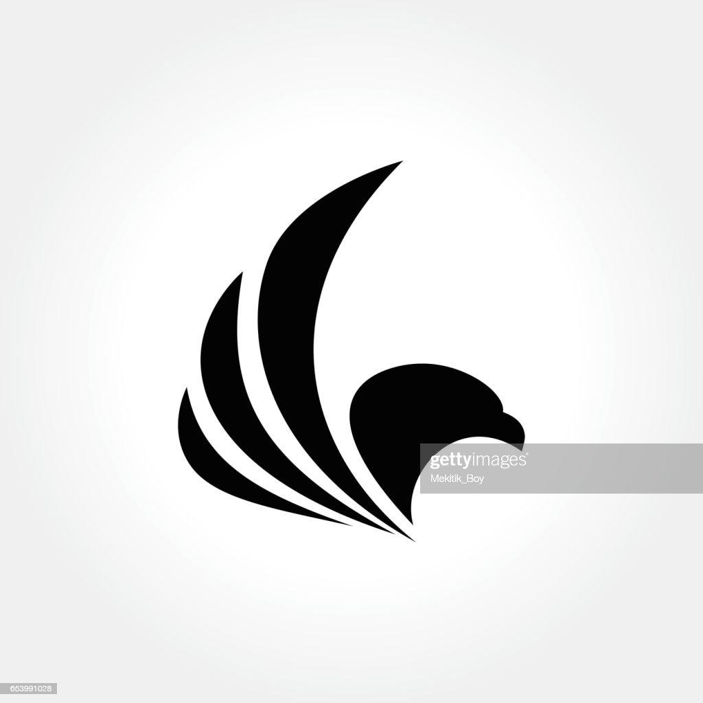 Eagle Bird Design, vector illustration