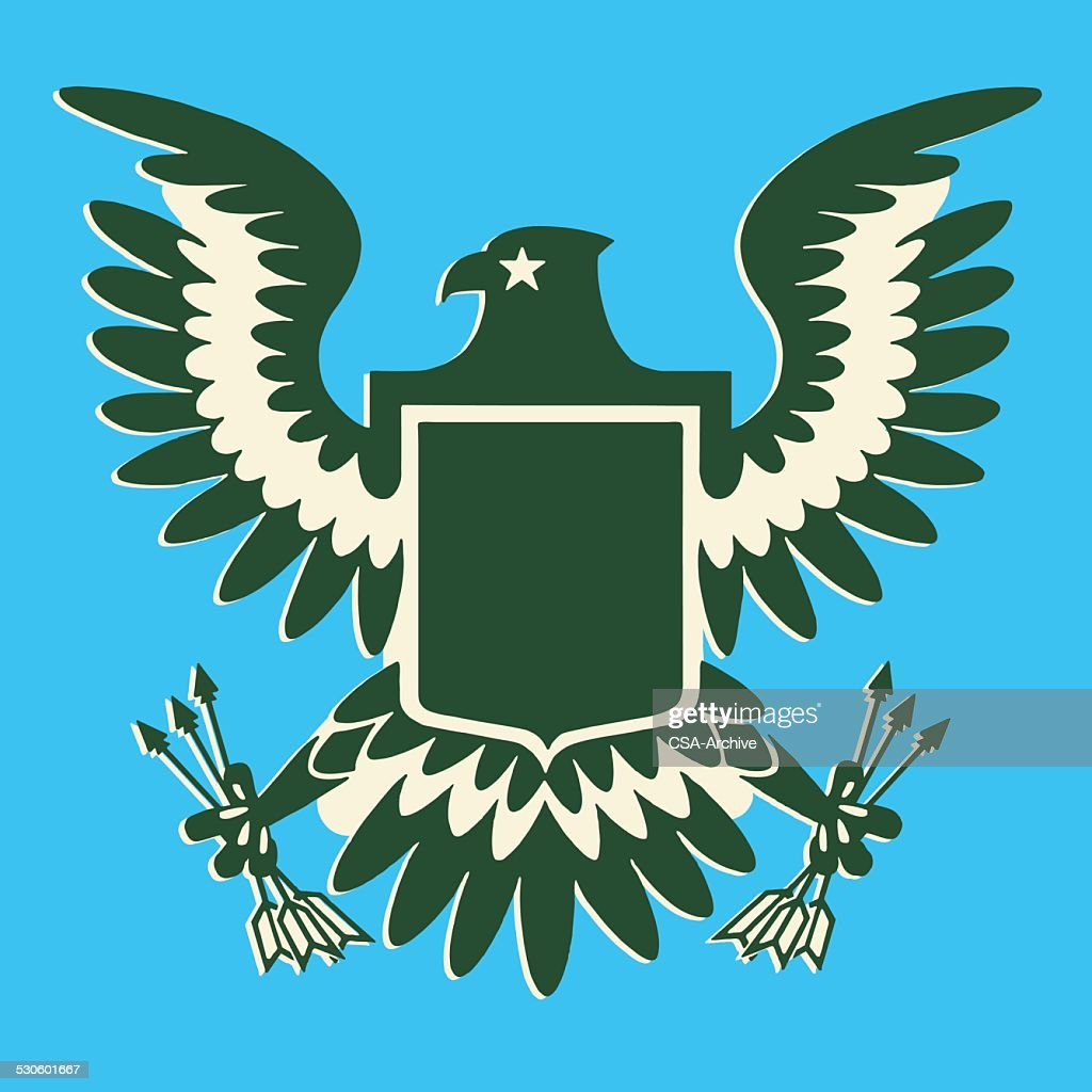 Eagle Clutching Arrows