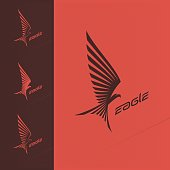 Eagle emblem design