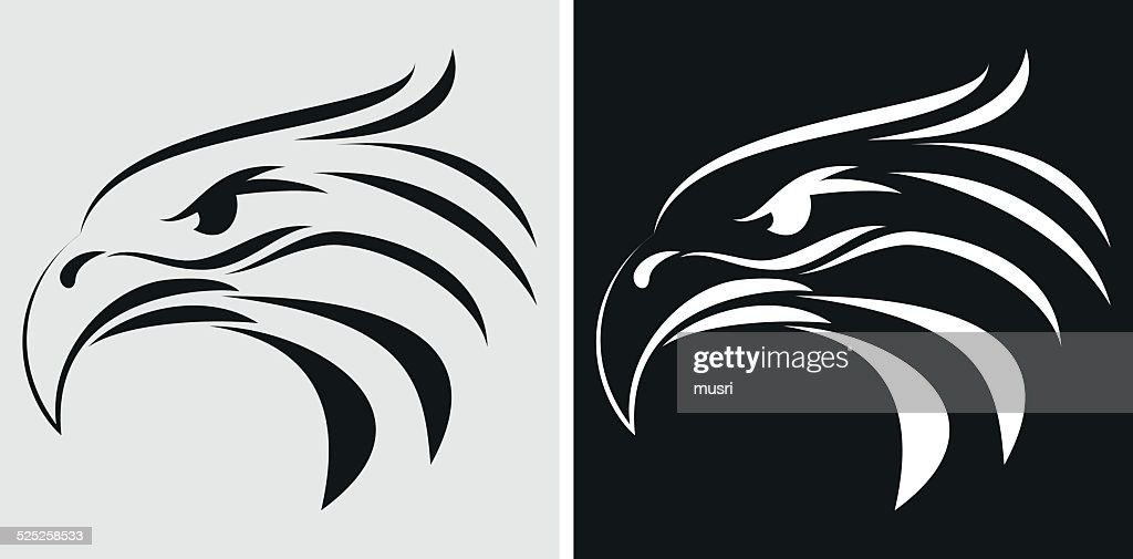Eagle head icon