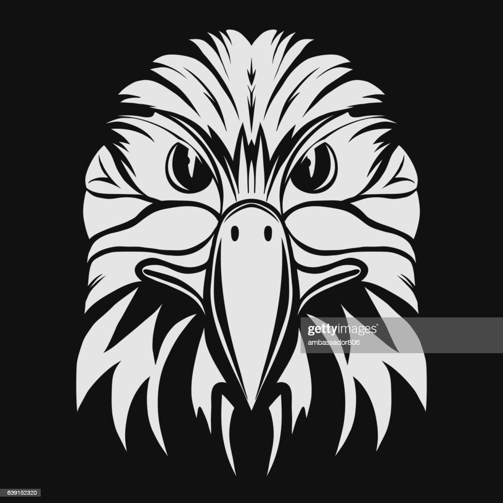 Eagle head logo Template. Vector