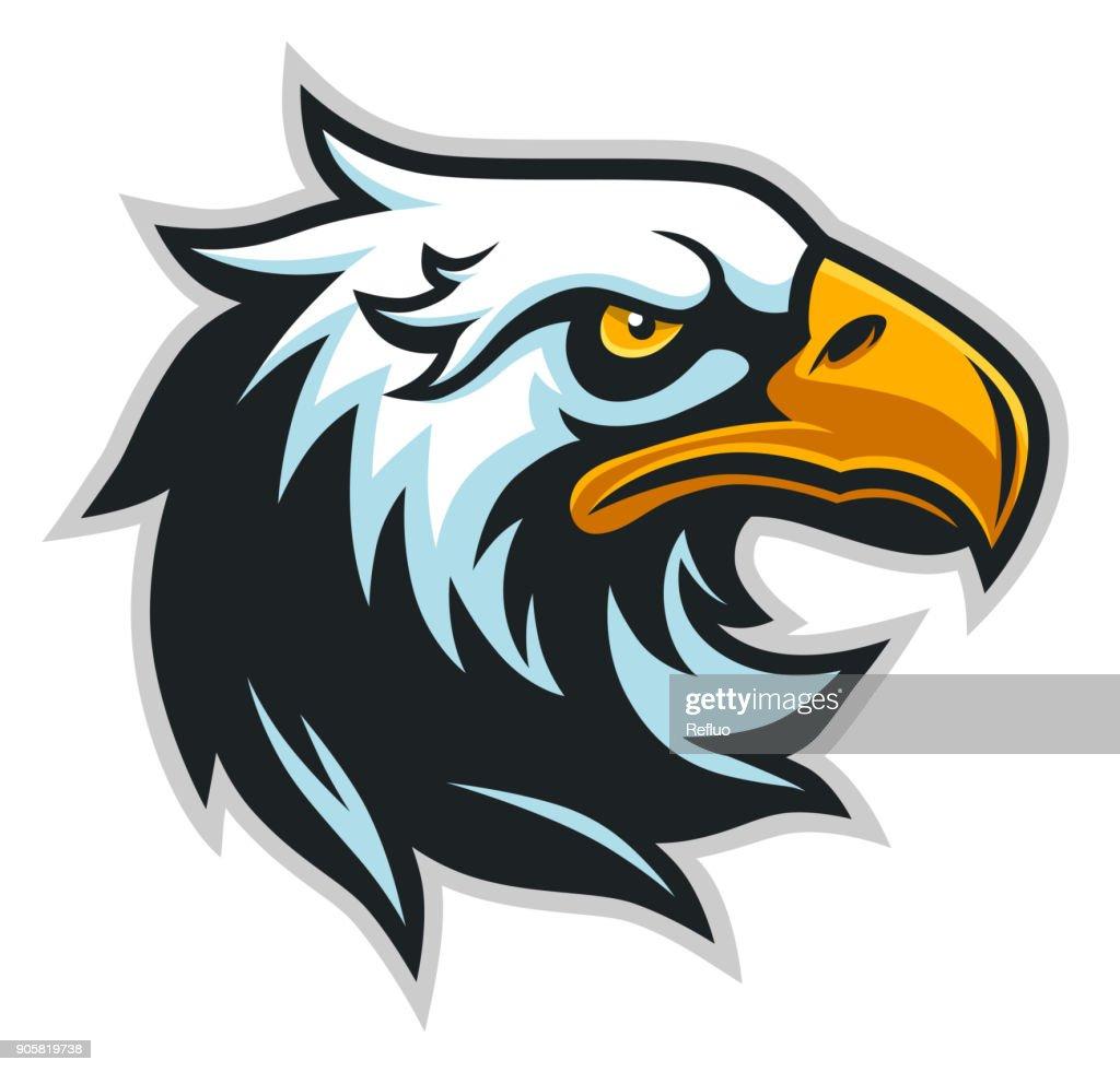 Eagle head profile simple