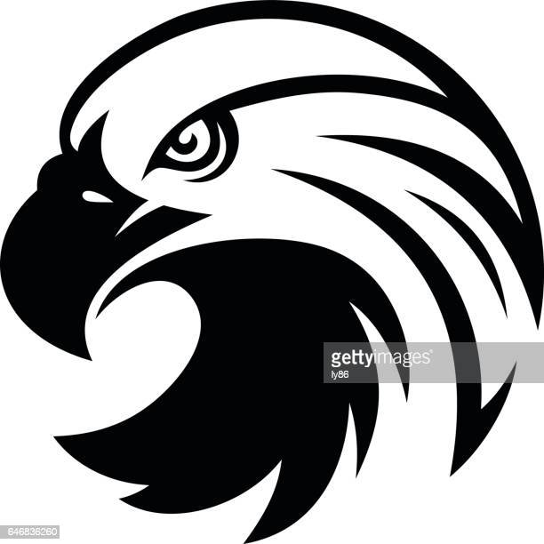 illustrations, cliparts, dessins animés et icônes de tête d'eagle  - aigle