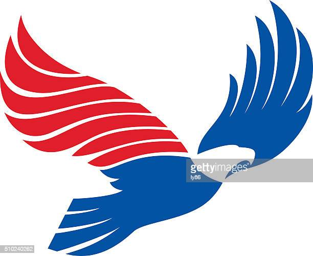 illustrations, cliparts, dessins animés et icônes de emblématique à motif aigle - aigle