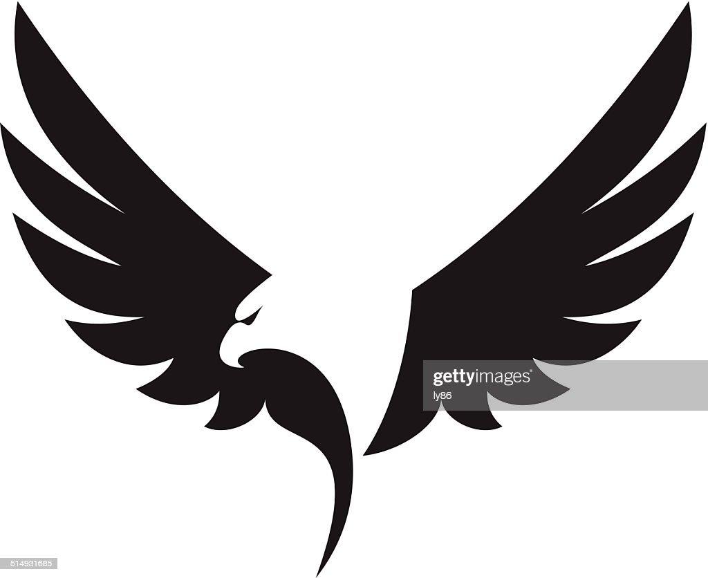 Eagle icon : stock illustration