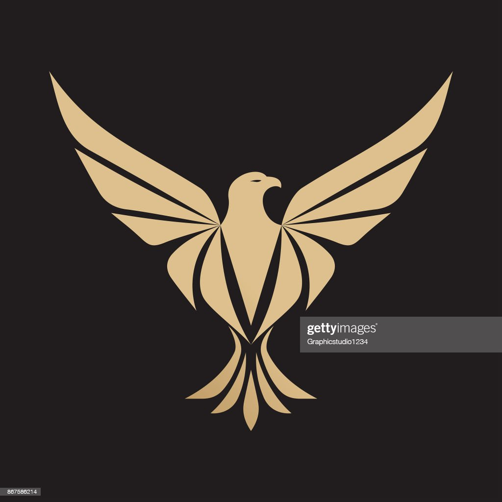 Eagle icon - Vector illustration