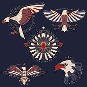 eagle labels & badges