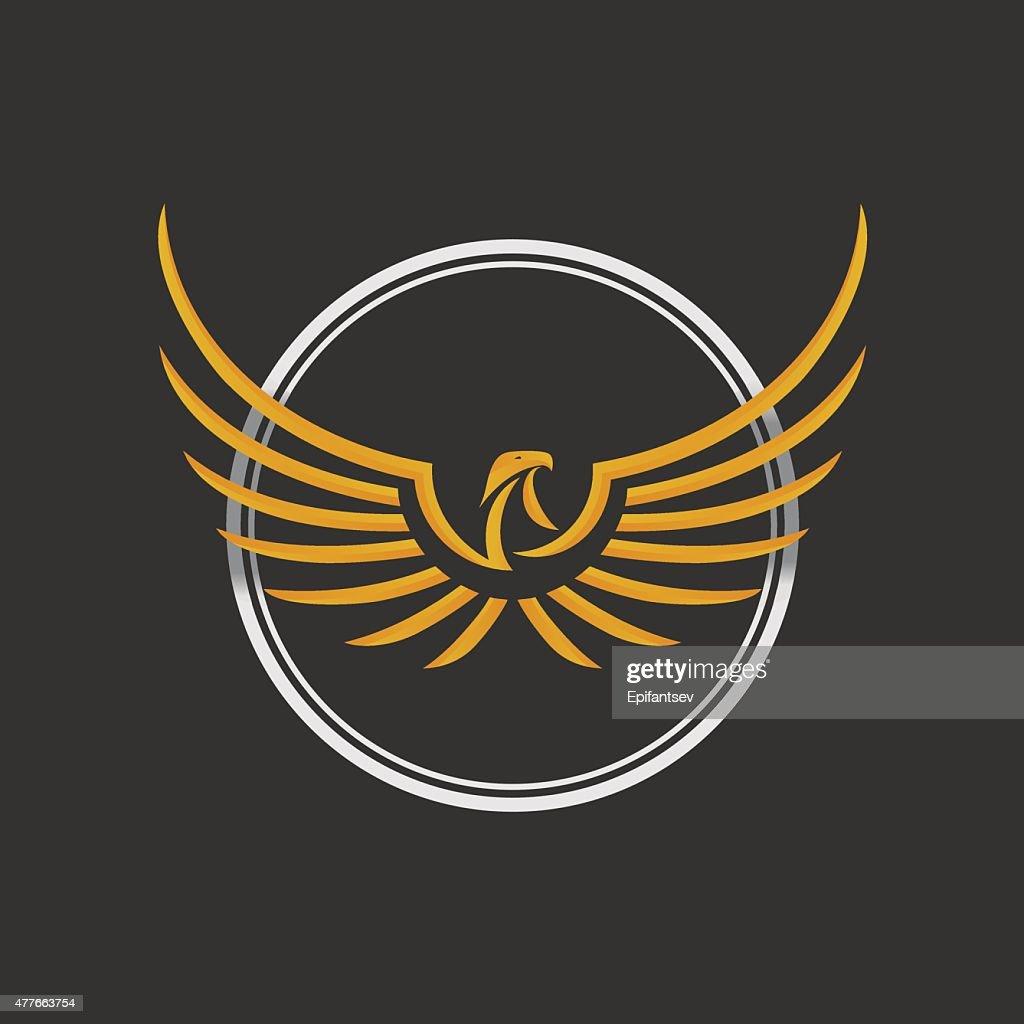 Eagle Logo Icon Design Template - Stock vector.