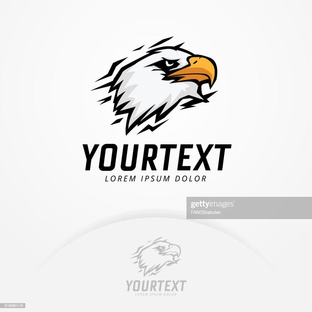 Eagle mascot design