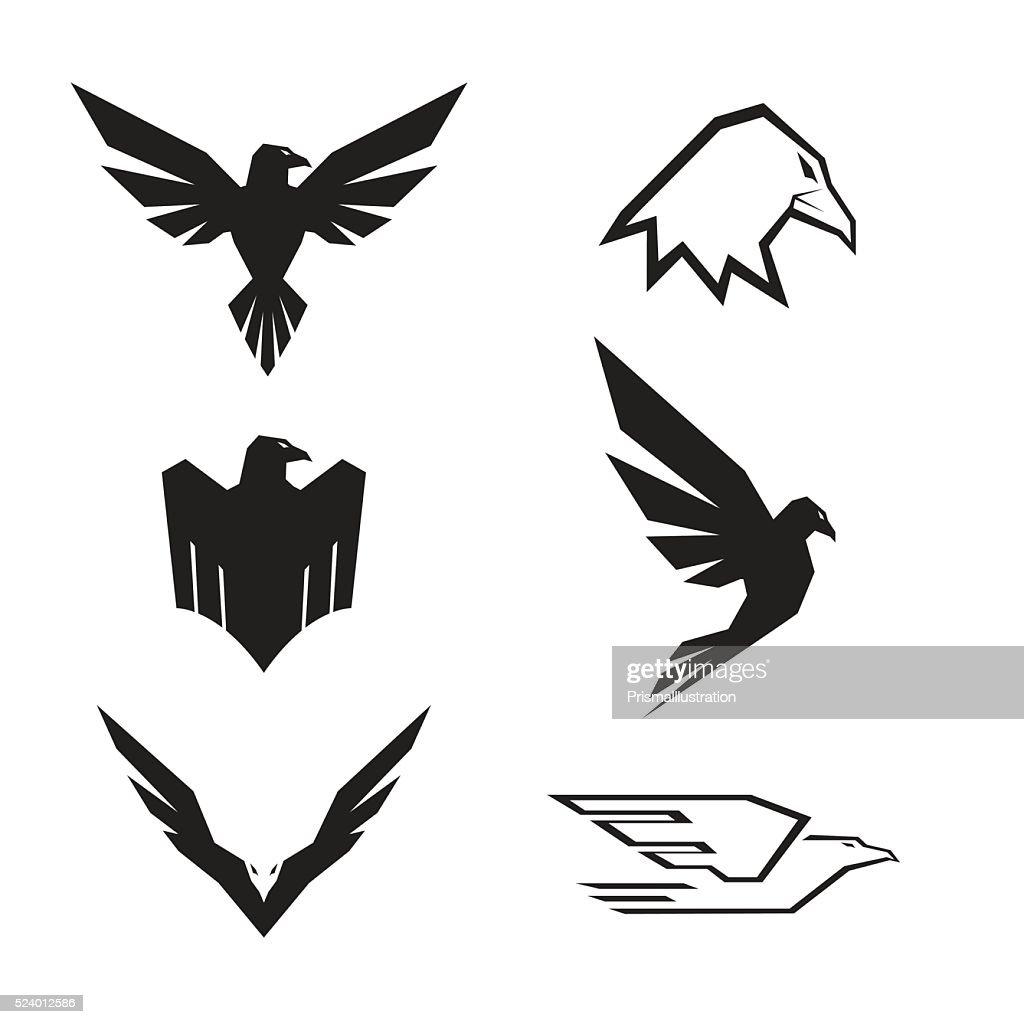 Eagle Set : stock illustration