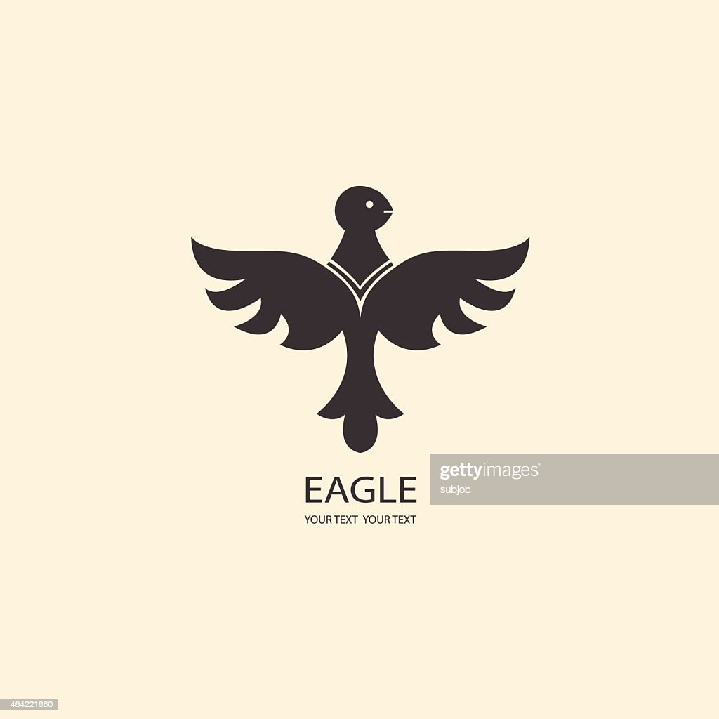 Eagle Silhouettes. Icons for your business. logo set