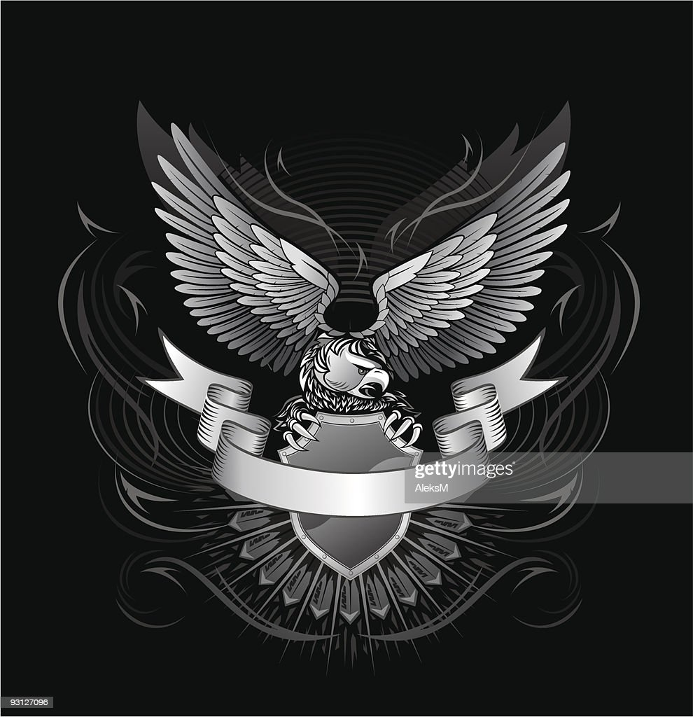 Eagle upon the shield