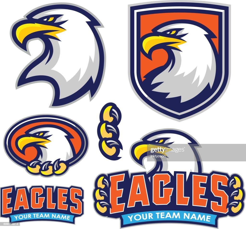 Eagles Sport Kit : stock illustration