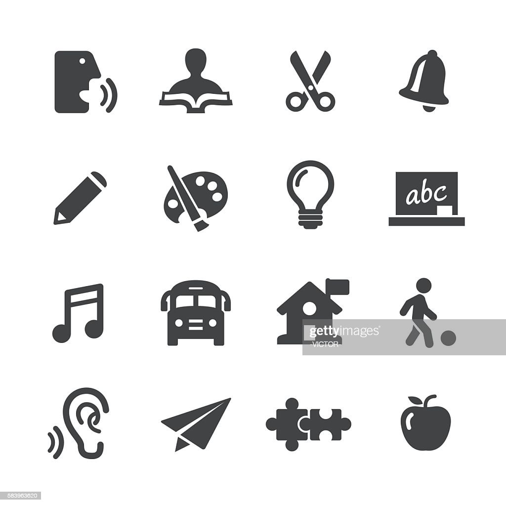 Early Learning Icons - Acme Series