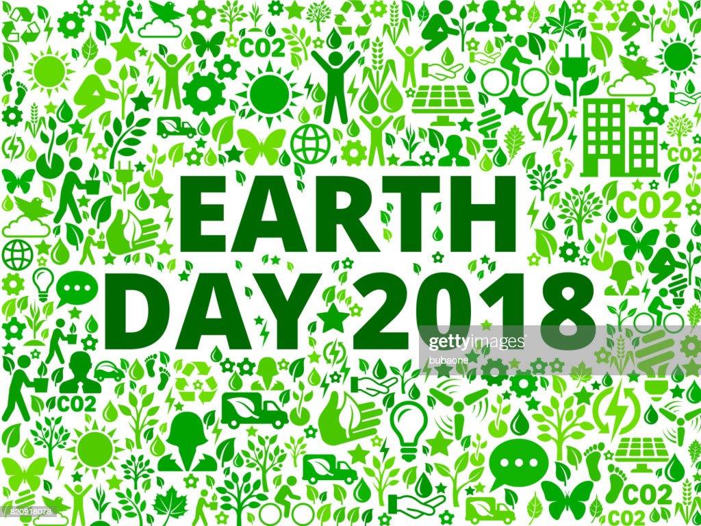 Earth Day 2018 Environmental Conservation Vector Icon ...