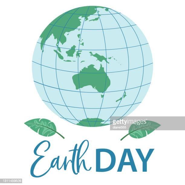 illustrazioni stock, clip art, cartoni animati e icone di tendenza di giornata della terra 2021 - giornata mondiale della terra