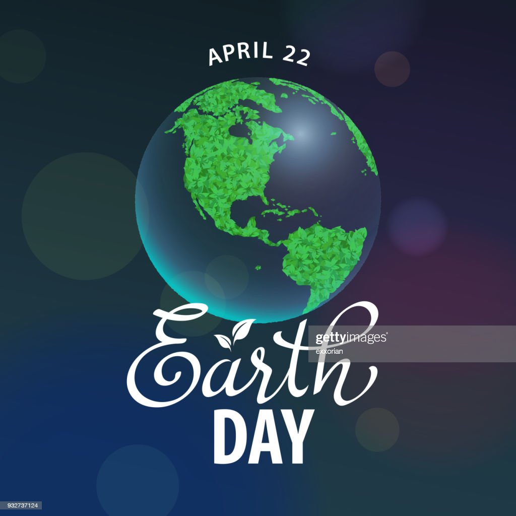 Earth Day Celebration : Stock-Illustration