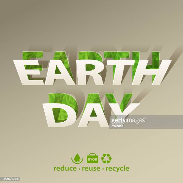 earth day environmental conservation - earth day stock illustrations