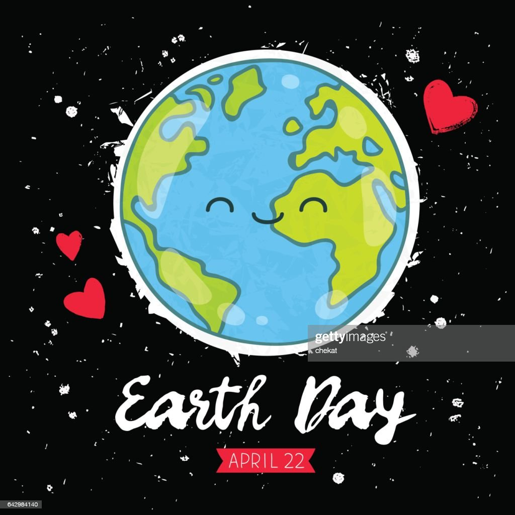 Earth Day. Gift card