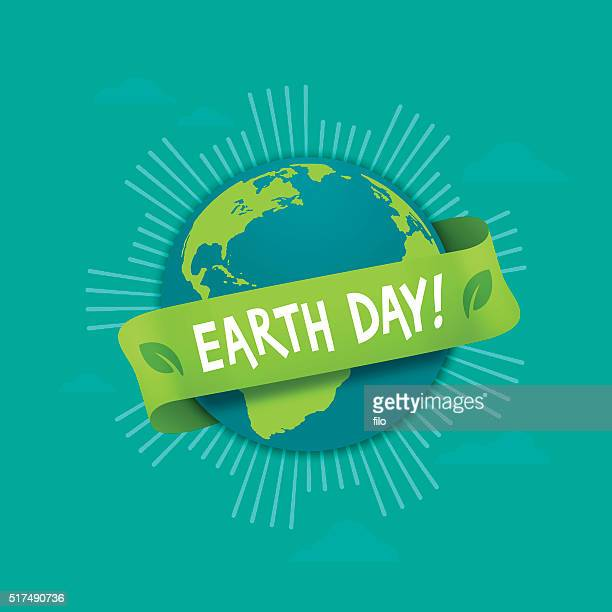 earth day globe - earth day stock illustrations
